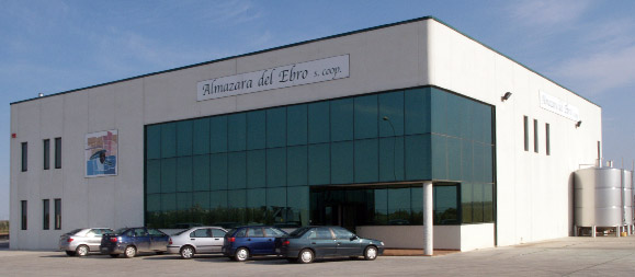 las instalaciones de Almazara del Ebro